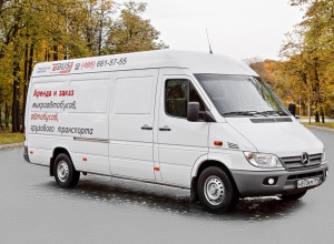 MERCEDES-BENZ SPRINTER for CARGO transportation