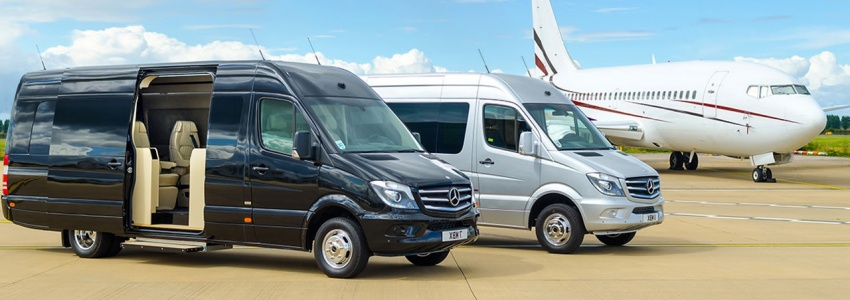 Rent a minibus for 9 seats with a driver, book a minibus for 9 people