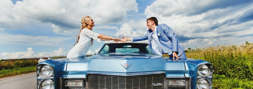 Rent a car for a wedding in Moscow, cheap
